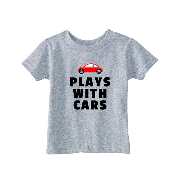 Matching T-Shirt Father Still Plays With Cars Son Play With Cars