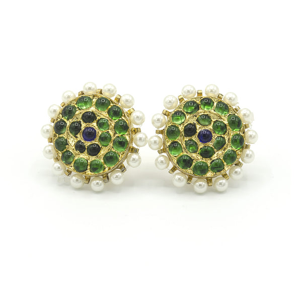 Traditional Temple Stud Earring - BG
