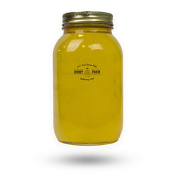 Wildflower Honey – 4 lb. (1.814 kg) Jar – Pure, & Unpasteurized