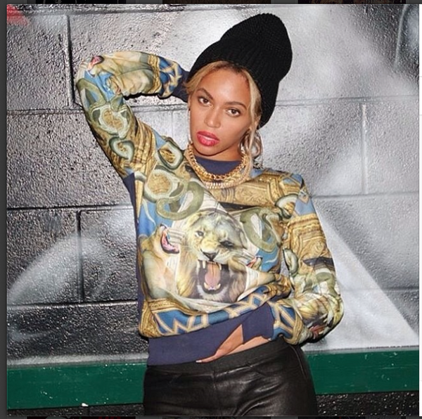 Beyoncé wears Criminal Damage