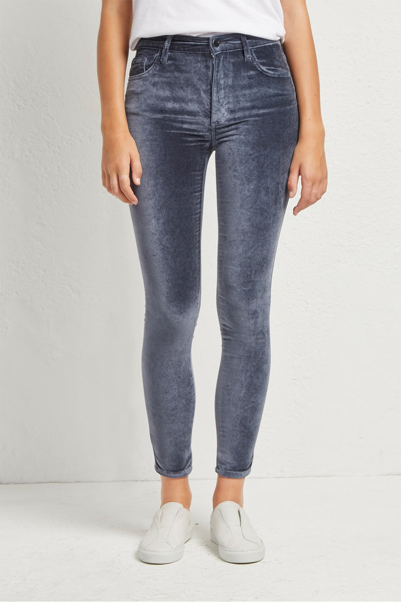 Broek Velvet Skinny French Connection