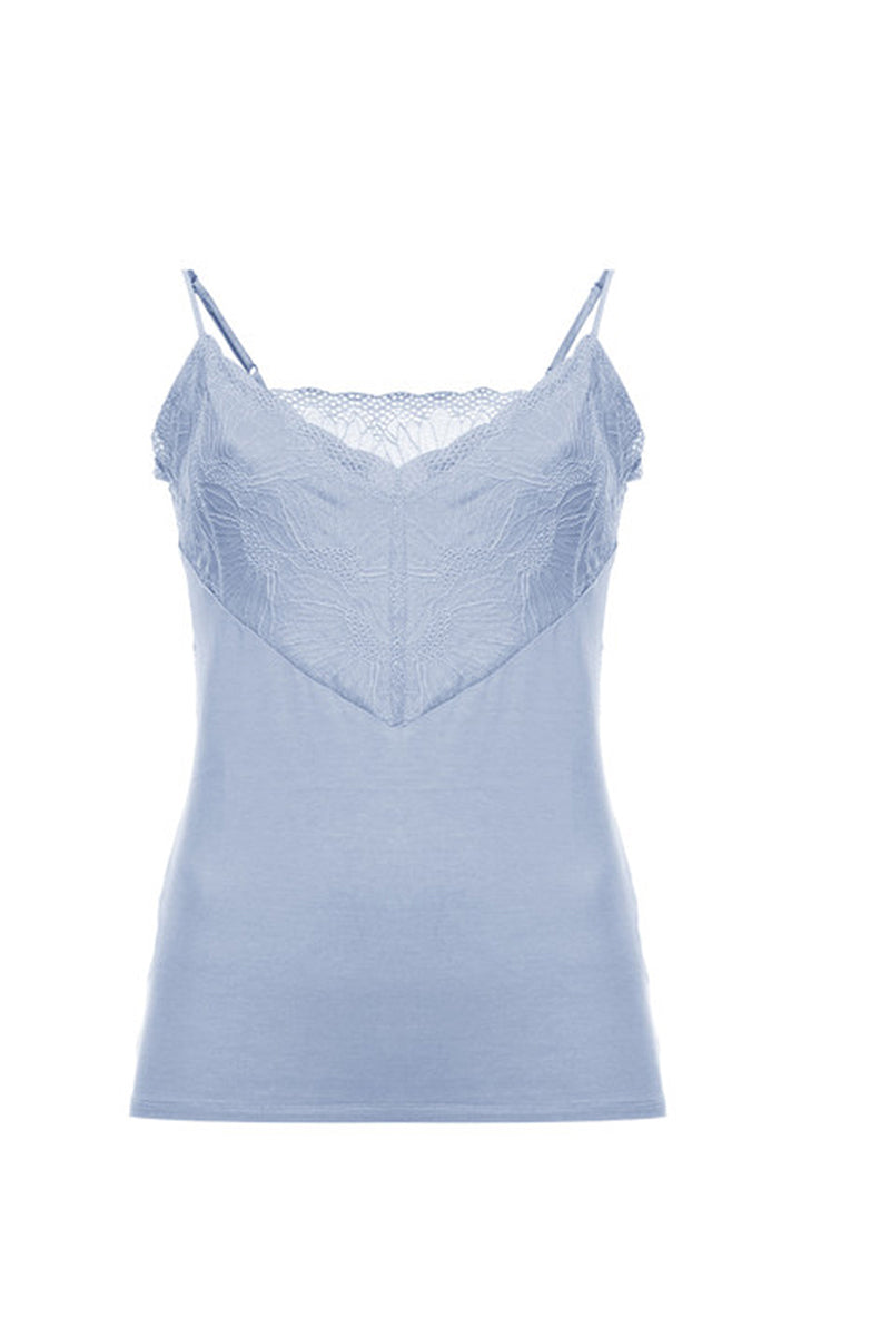 Top Pallya Licht Blauw Six Ames