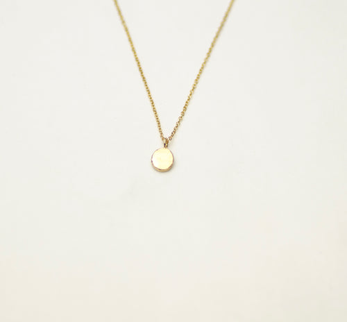 Ketting Ancient Flat Ball Charlotte Wooning goud