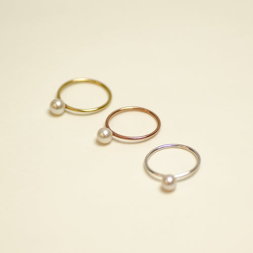 Ring Pluto Small Charlotte Wooning goud