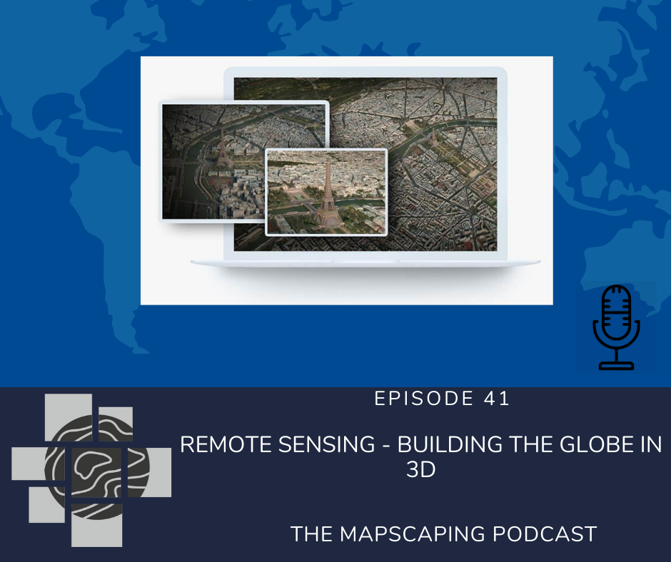 Remote sensing - building the globe in 3D