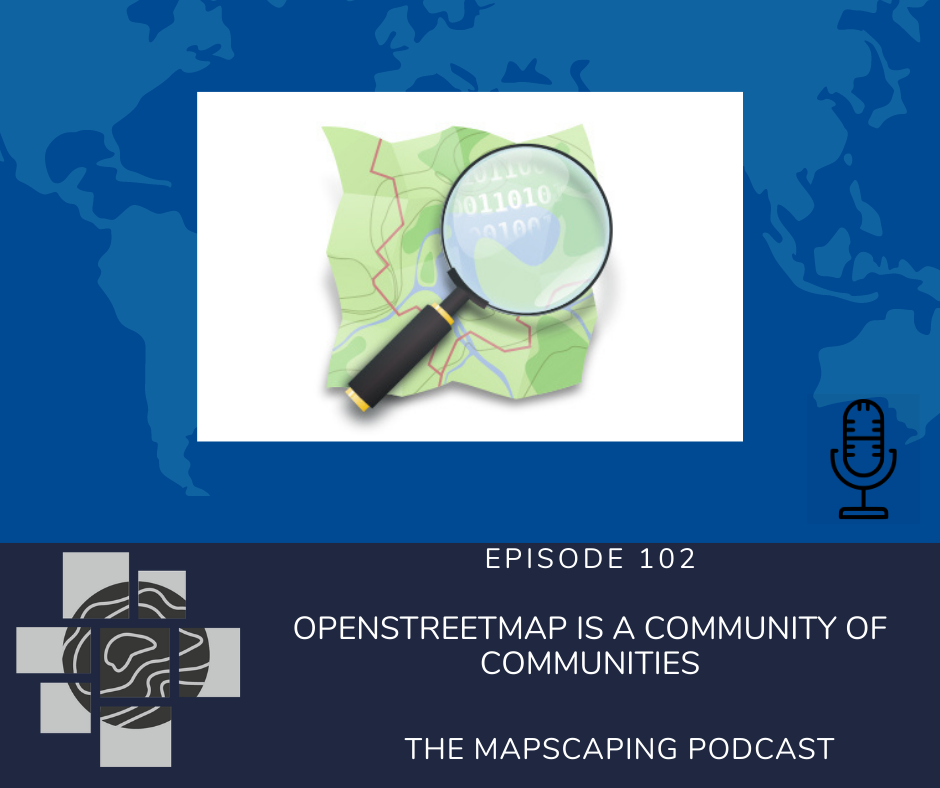 OpenStreetMap GIS geospatial mapping communities