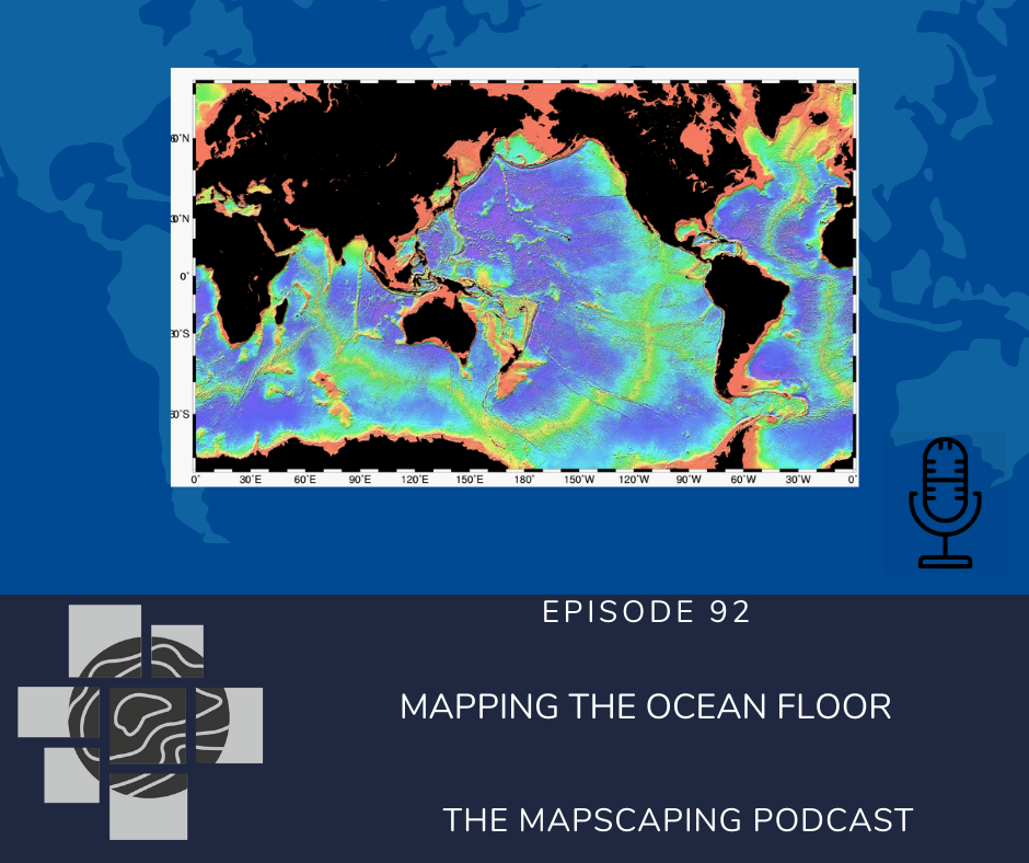 Mapping the ocean floor, seabed 2030