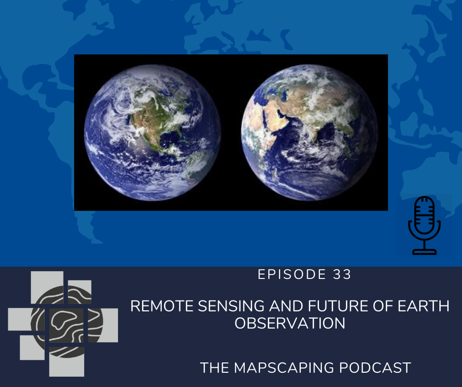 Remote sensing and earth observation podcast