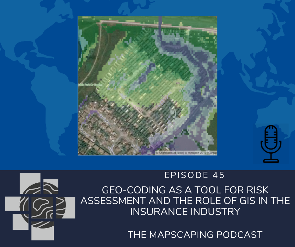 Geo-coding as a tool for risk assessment and the role of GIS in the insurance industry
