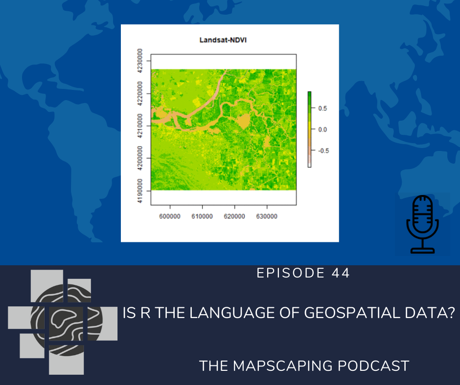 Is R the language of geospatial data?