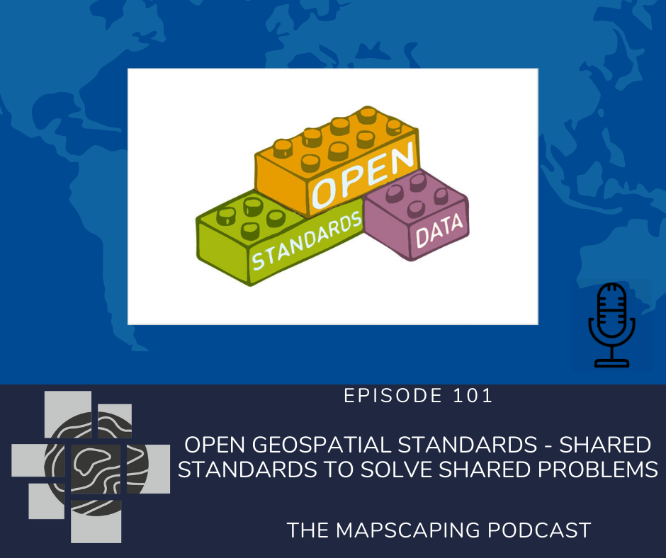 Open geospatial standards, open GIS data formats