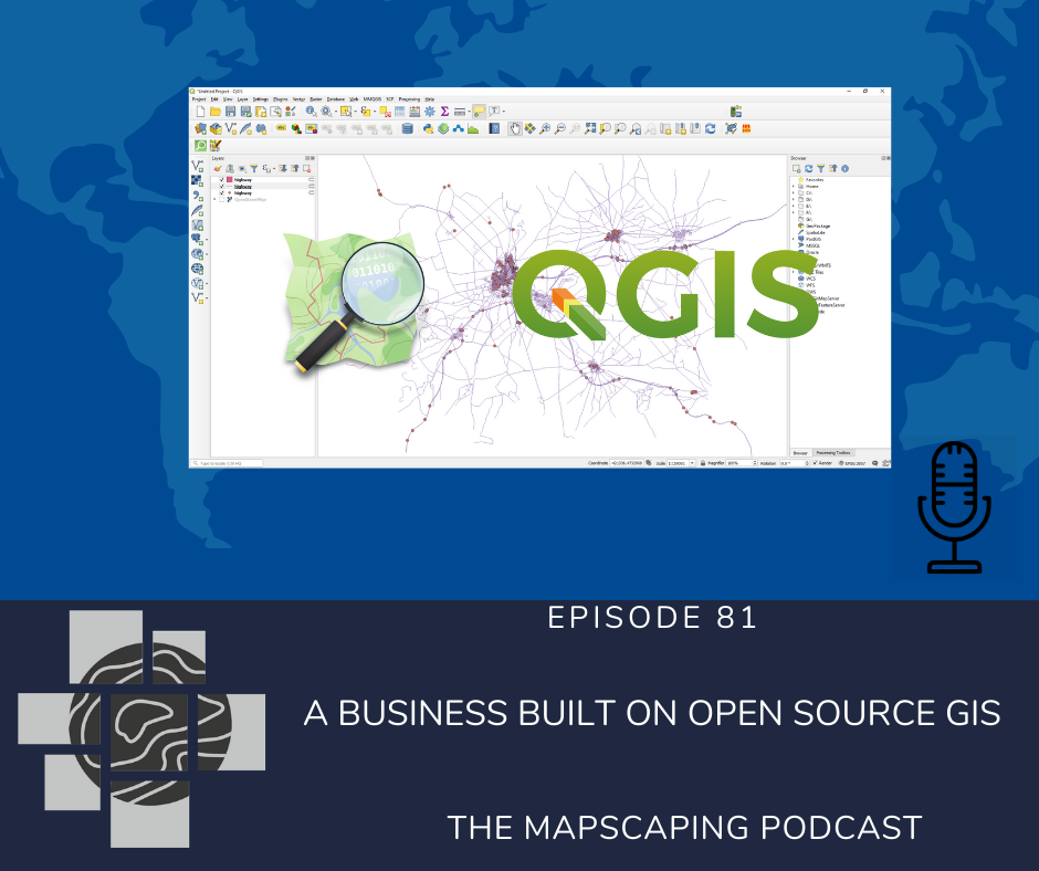 Open source GIS business, QGIS geospatial software