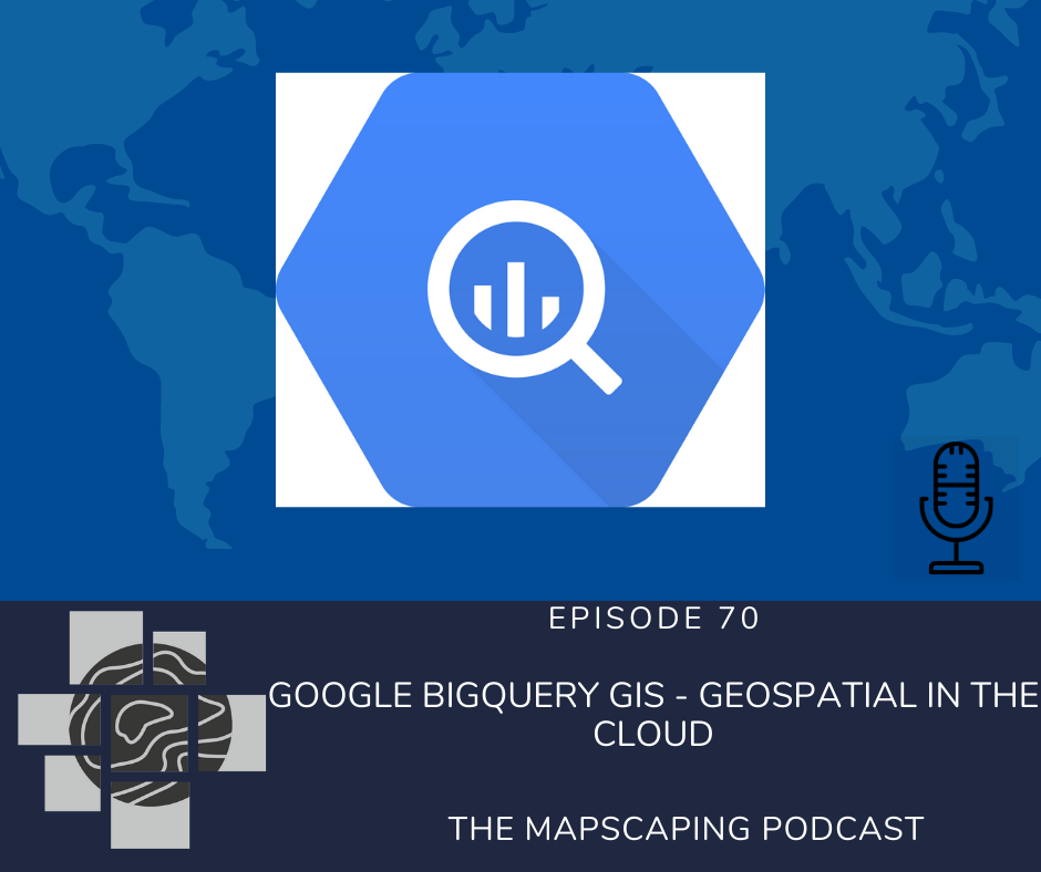 Big Query GIS geospatial functionality for data warehousing