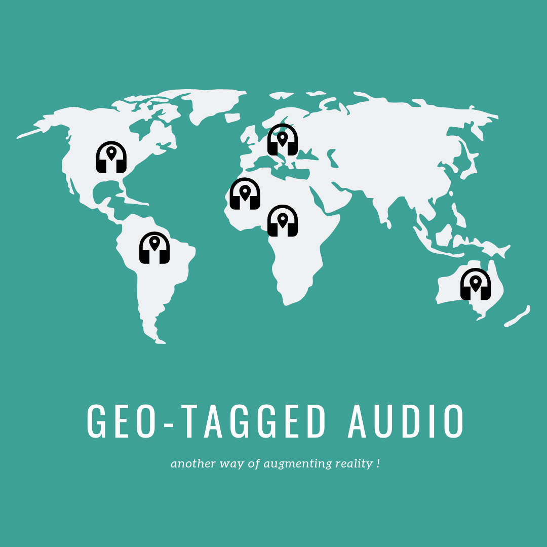 Geo-tagged audio - another way of augmenting reality