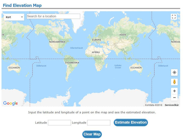 5 Websites That Find Elevation For Any Point On Earth Mapscaping