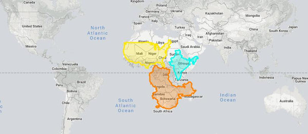 This map show the true size of countries and illiterates the effects map projections can have in terms of distorting area