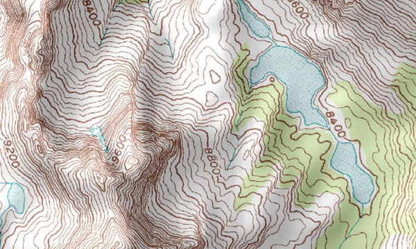 Topographic Map Of A Mountain.What Is Topography Mapscaping