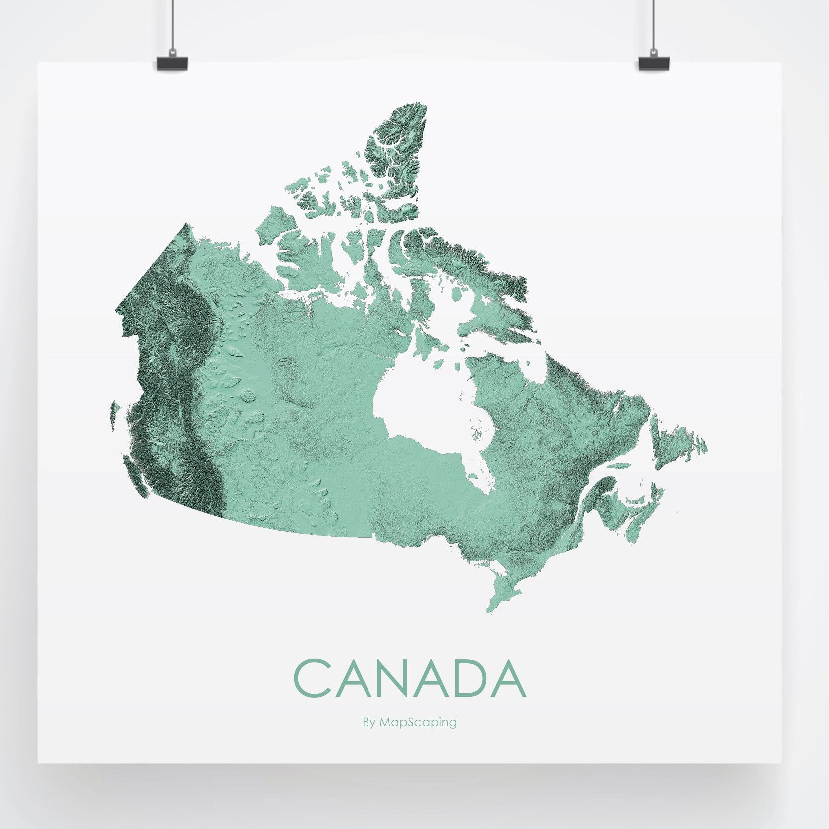 Map Of Canada 3d.Canada Map 3d Mint