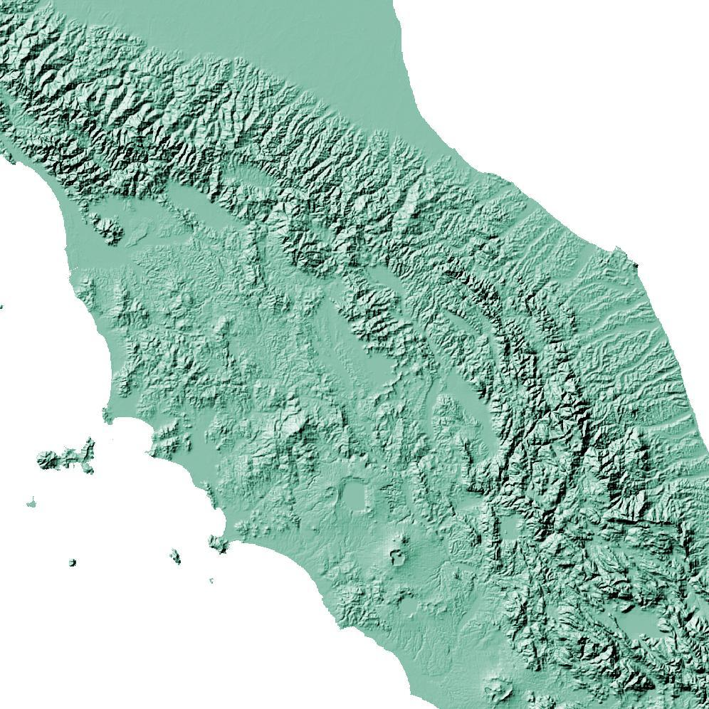 Topographic Map Italy.Italy Topographic Wall Art Map Mapscaping Com