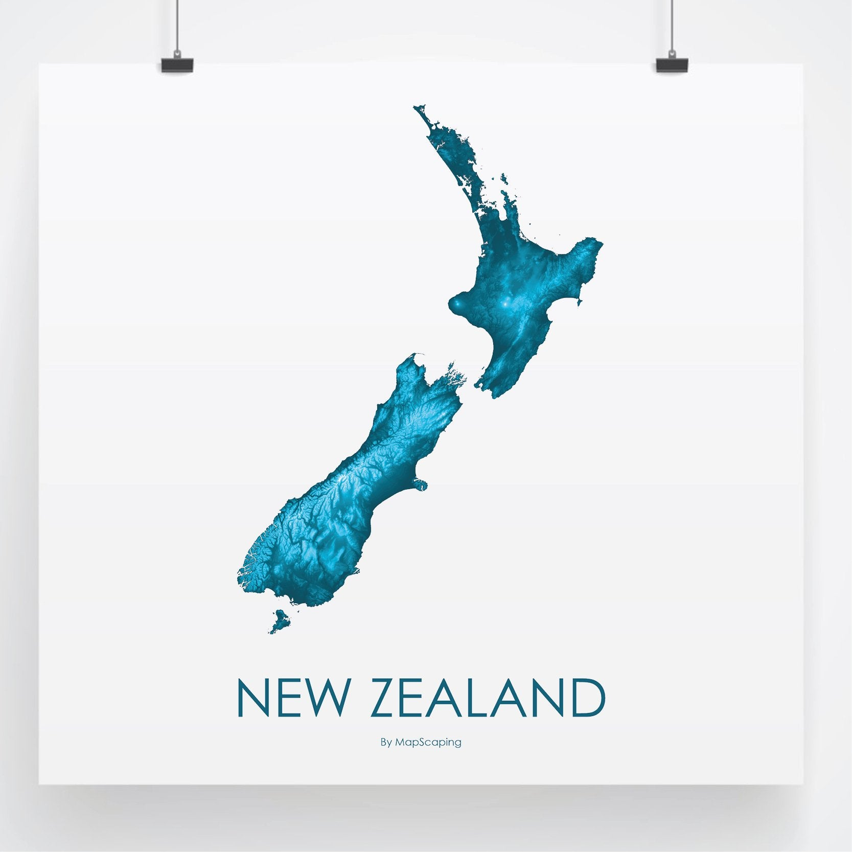 Detailed Map Of New Zealand.Map Of New Zealand Petroleum Blue