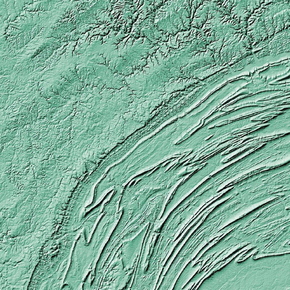 Pennsylvania Topographic Wall Art Map Mapscaping Com