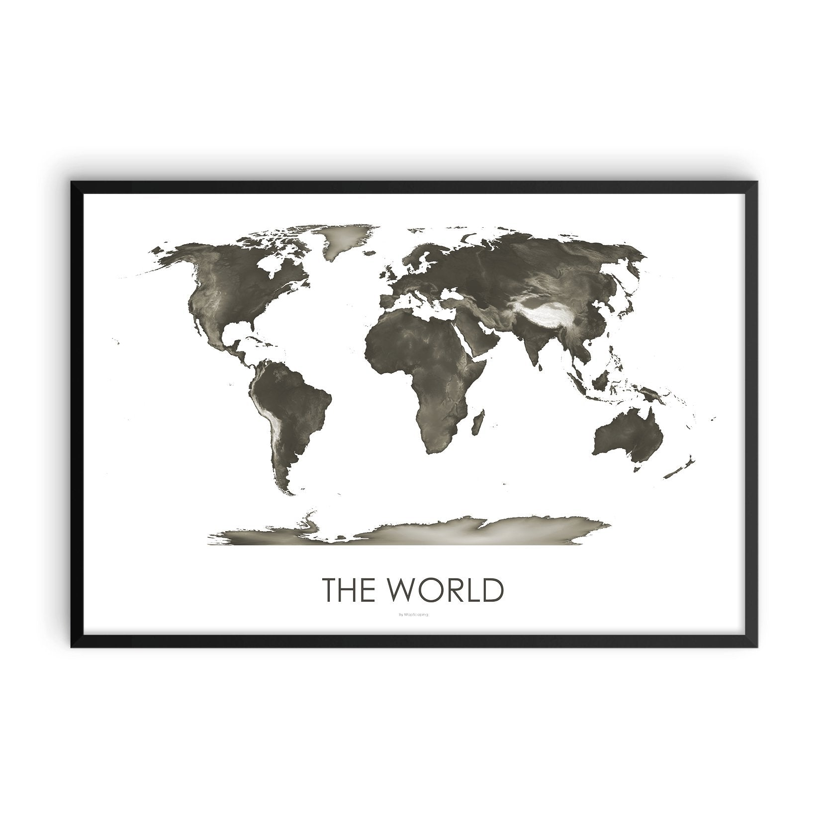 World Map Slate