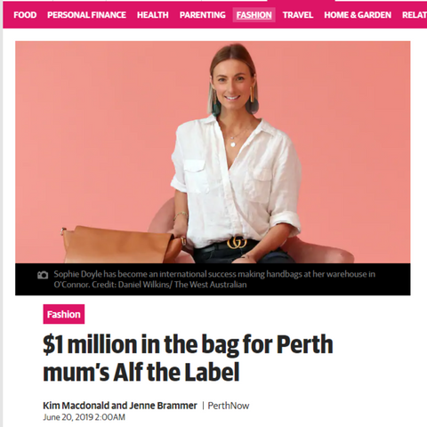 Alf the Label Media Perth NOW