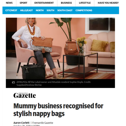 Alf the Label Fremantle Gazette Media