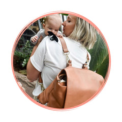 Alf the Label Tan Spot Ari Baby Bag Backpack My Little Joy