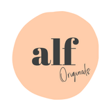 Alf the Label logo leather baby bags