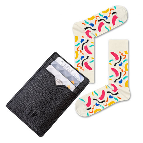Alf the Label Little John Card wallet socks