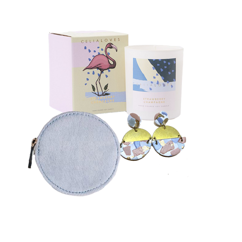 Alf the Label Little Dot Purse Celia Loves Candle Sorella Co Earrings