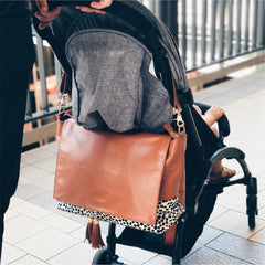 Pram straps Ari convertible backpack baby bag Alf the Label
