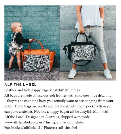 Harpers Bazaar Alf the Label