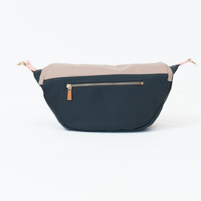 The Frankie Crossbody Pram Caddy: Golden Peach