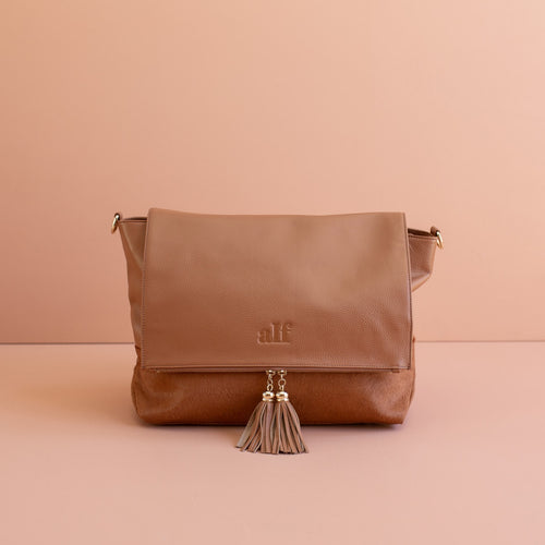 The Ari - 4 Way Backpack: All Tan