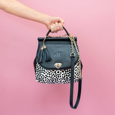 The Muriel - 4 Way Backpack: Black Spot [Limited Edition]