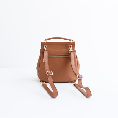The Muriel - 4 Way Backpack: Tan Spot [Limited Edition]