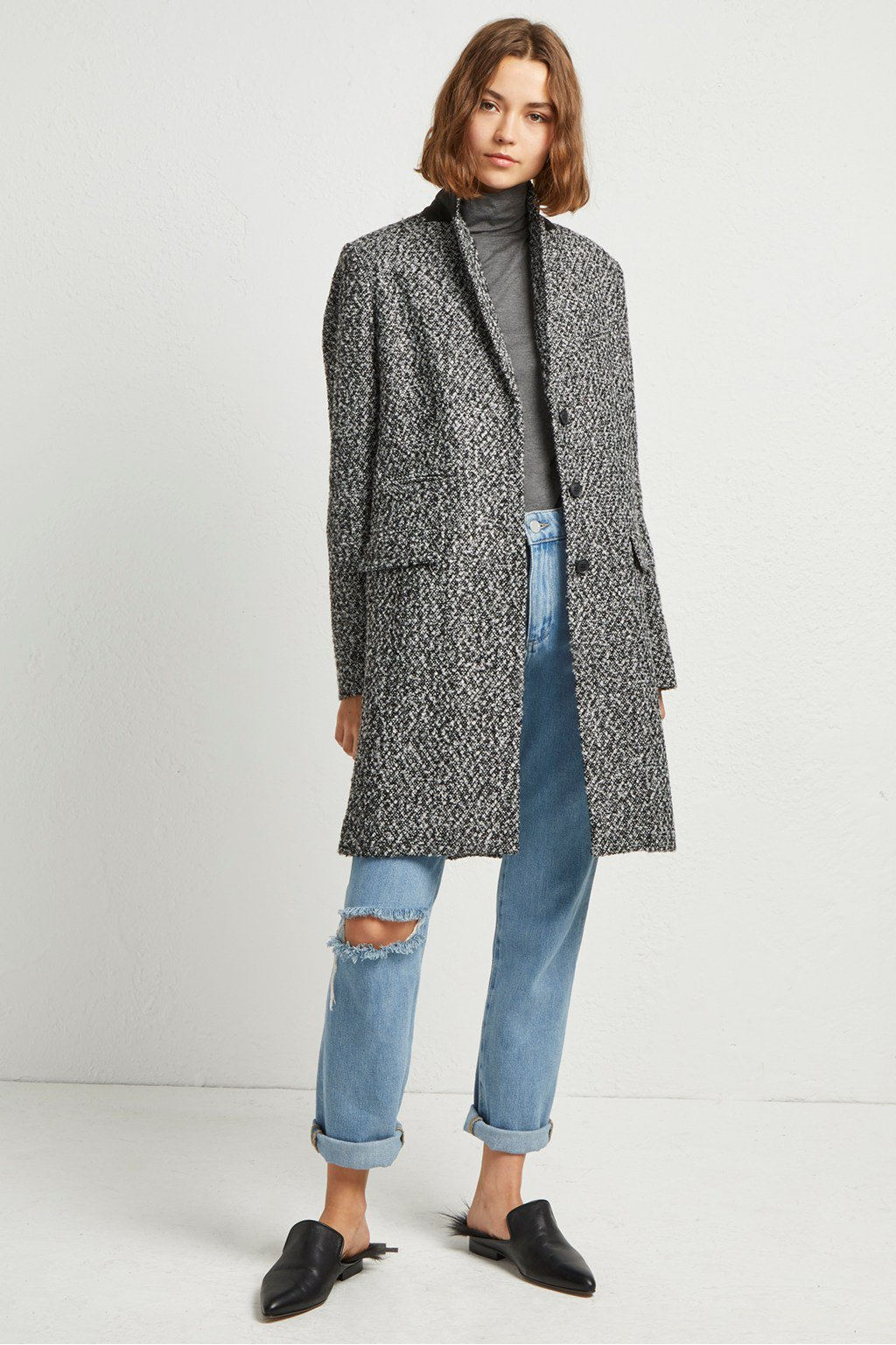 Beverly Tweed Coat