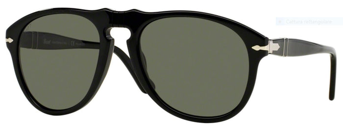 Persol Po 649 Black - Ottica Pietroni.it