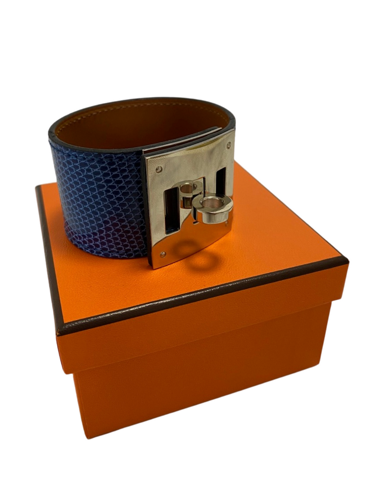Hermes Bracelet Kelly Dog Cuir Lezard