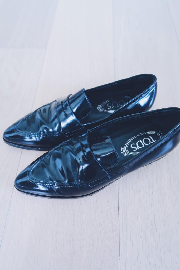 TOD'S Penny Loafer ( Black )