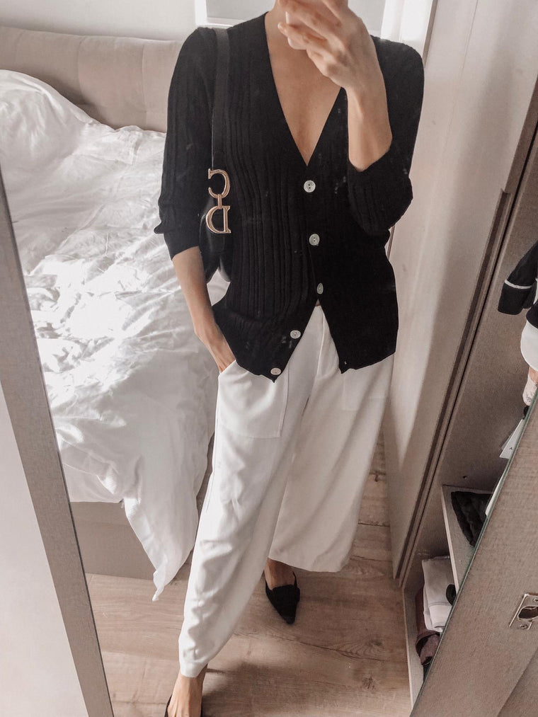 Katrina Black Cardigan