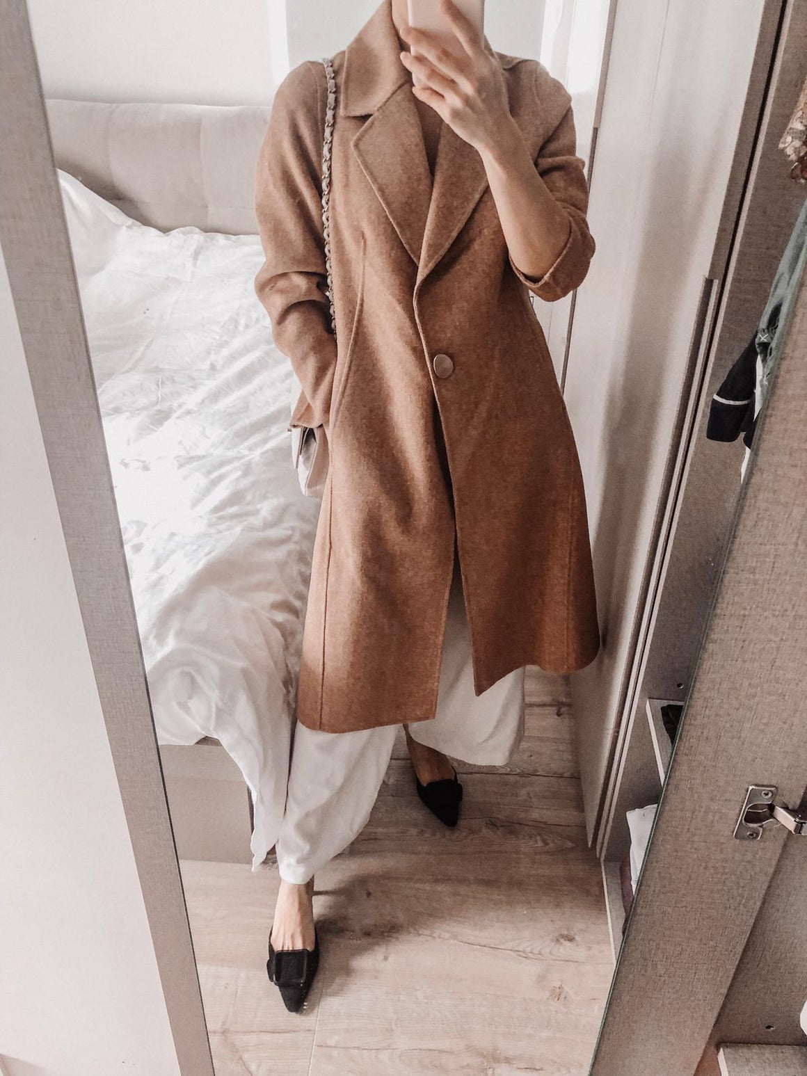 Jessie Wool Long Coat