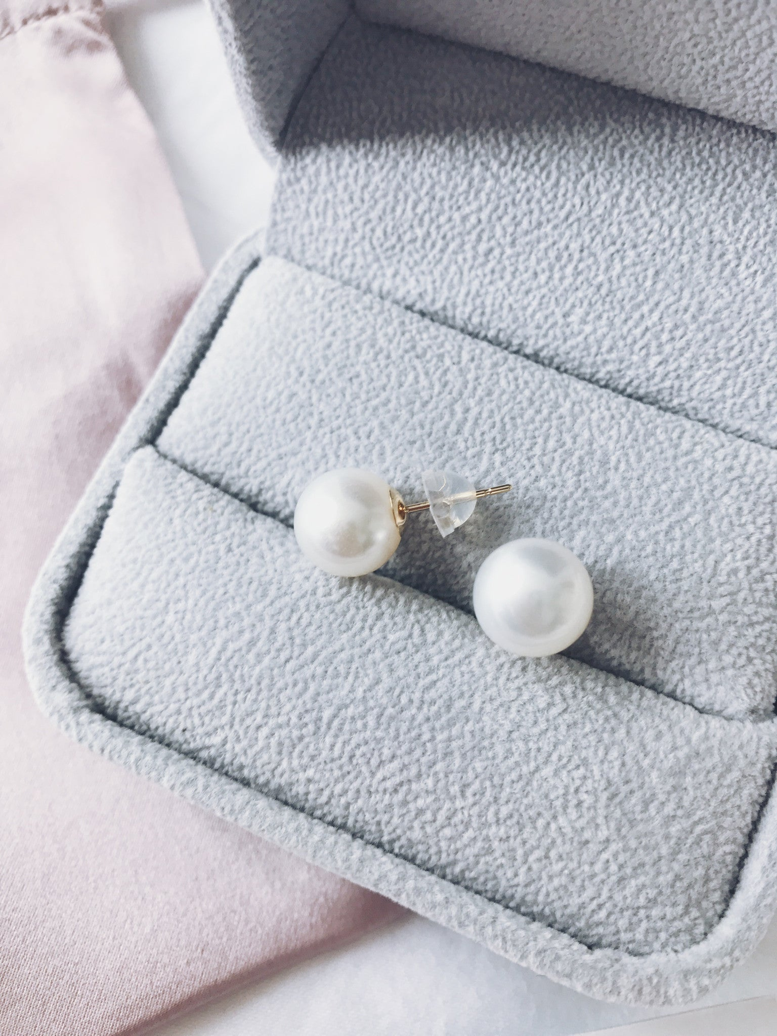 17562c372 Signature 11-12mm Flawless White South Sea Pearl Stud Earrings ...