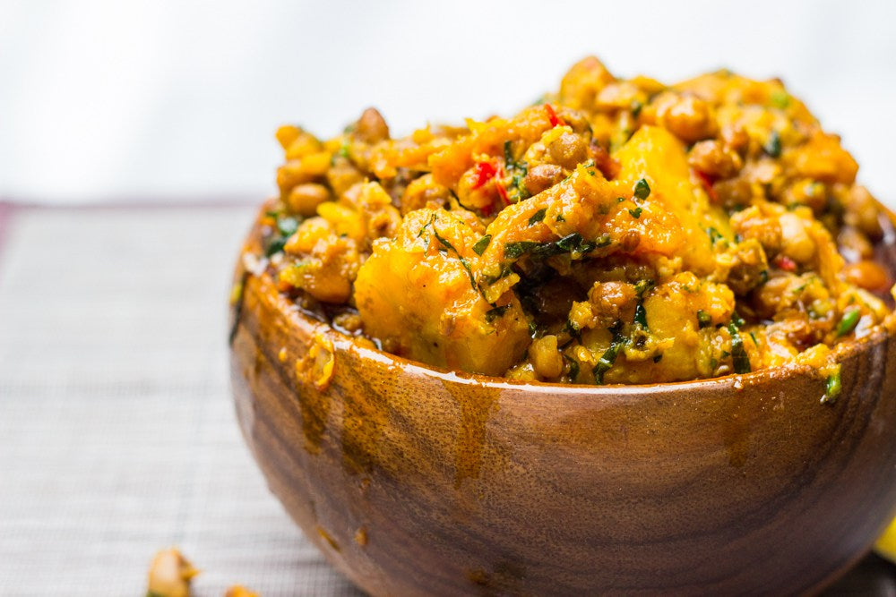 Beans and Plantain Pottage