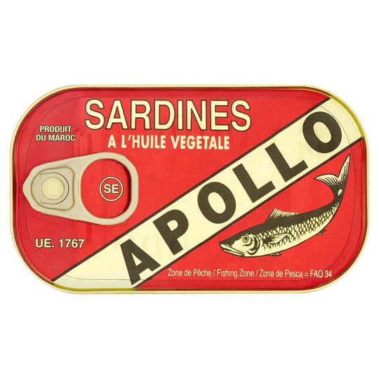 Apollo Sardines In Vegetable Oil