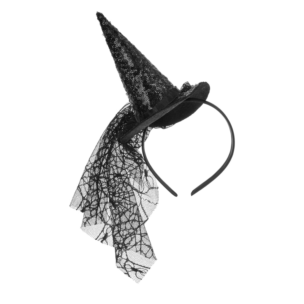 Sparkly spooky witch hat