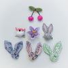 Bunny ears hair wraps BY MIMI AND LULA