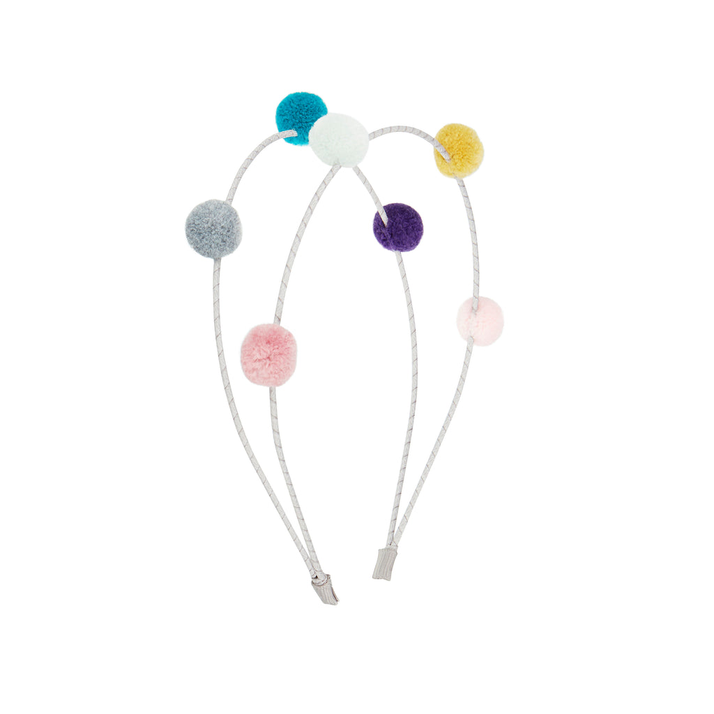 Double pom pom alice band by MIMI & LULA